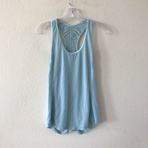 Lululemon ruched racerback tank top